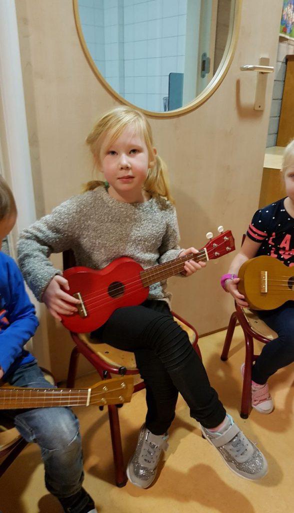Muziekles Ukelele